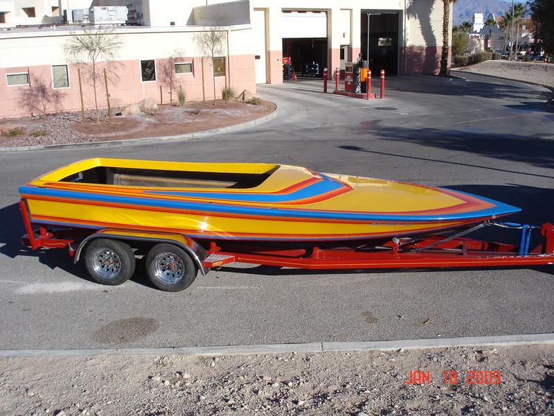 1980 21' Rayson Craft. Future GN race boat.